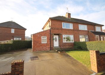 Thumbnail 4 bedroom semi-detached house for sale in East Street, Scarcliffe, Chesterfield