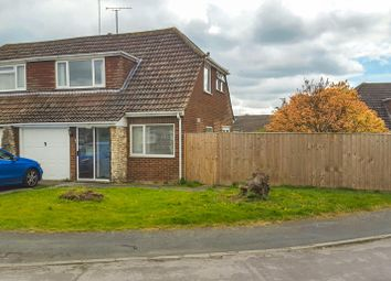 Thumbnail 3 bedroom semi-detached house for sale in Haven Close, Stratton St Margaret, Swindon