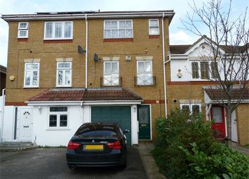 Thumbnail 3 bed town house for sale in Tollgate Drive, Hayes, Middlesex