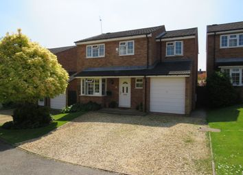 Thumbnail 4 bed detached house for sale in Sears Close, Flore, Northampton