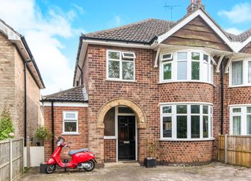 Thumbnail 3 bed semi-detached house for sale in Casterton Road, Stamford
