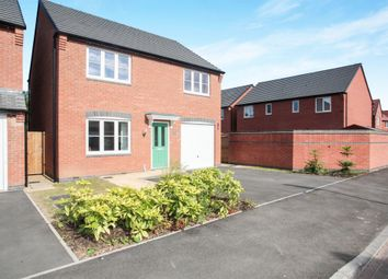 Thumbnail 4 bedroom detached house for sale in Academy Drive, Rugby