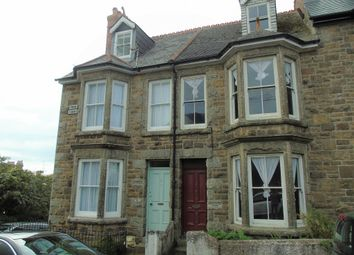 Thumbnail 4 bed terraced house for sale in Penare Terrace, Penzance, Cornwall.