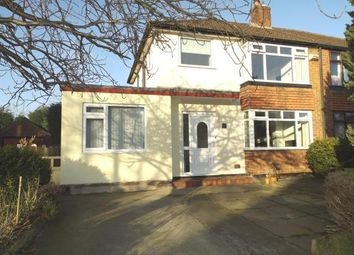 Thumbnail 3 bed semi-detached house for sale in Braemar Road, Hazel Grove, Stockport, Cheshire