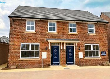 """Thumbnail 3 bedroom semi-detached house for sale in """"Archford"""" at Great Hall Drive, Bury St. Edmunds"""