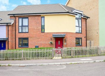Thumbnail 3 bed end terrace house for sale in Whitley Road, Upper Cambourne, Cambridge