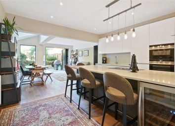 Thumbnail 4 bed terraced house for sale in Harvey Road, Walton-On-Thames, Surrey