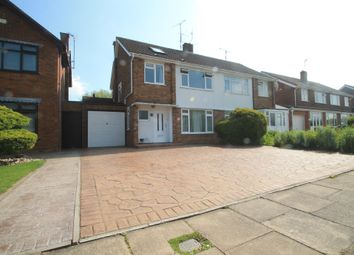 Thumbnail 4 bed semi-detached house for sale in Stirling Avenue, Aylesbury