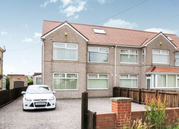 Thumbnail 6 bed semi-detached house for sale in Port Road East, Barry