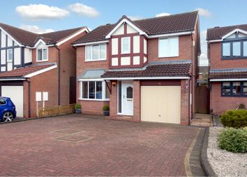 Thumbnail 4 bed detached house for sale in Lindisfarne, Tamworth