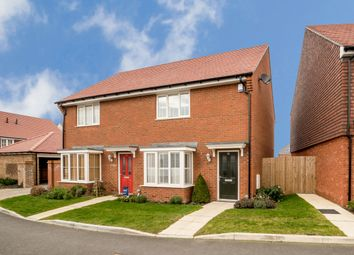 Thumbnail 2 bed semi-detached house for sale in Nuthatch Drive, Finberry, Ashford