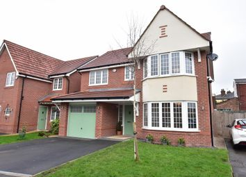 Thumbnail 4 bed detached house for sale in Bridgefield Close, Tyldesley, Manchester