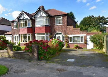 Thumbnail 3 bed semi-detached house for sale in Wilmslow Road, Heald Green, Stockport
