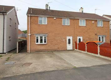 3 bed semi-detached house for sale in Alma Road, North Wingfield, Chesterfield S42