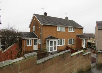Thumbnail 2 bed semi-detached house for sale in Cheddar Crescent, Llanrumney, Cardiff
