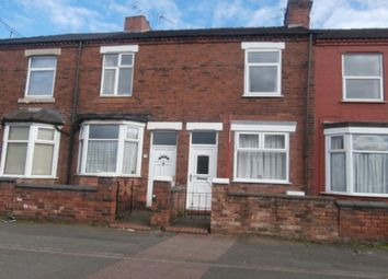 Thumbnail 2 bed terraced house to rent in Brook Lane, Newcastle-Under-Lyme