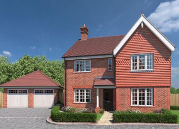 Thumbnail 4 bed detached house for sale in The Meadows, Shermanbury, Horsham
