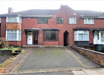 Thumbnail 3 bed terraced house for sale in Walsall Road, West Bromwich