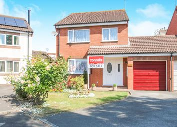 Thumbnail 4 bed detached house for sale in Dowell Close, Taunton