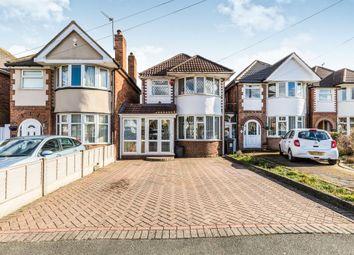 Thumbnail 3 bed detached house for sale in Palmvale Croft, Birmingham