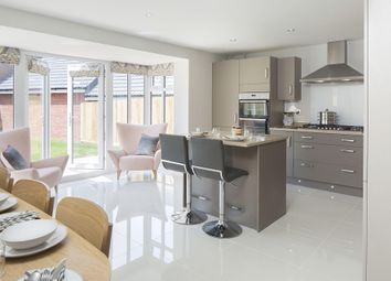 "Thumbnail 4 bed detached house for sale in ""Bayswater"" at Fen Street, Brooklands, Milton Keynes"