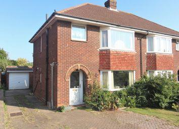 Dore Avenue, Portchester, Fareham PO16. 3 bed semi-detached house