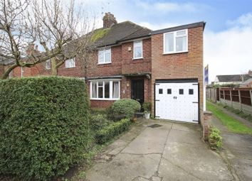 Thumbnail 4 bed semi-detached house for sale in The Twitchell, Beeston, Nottingham