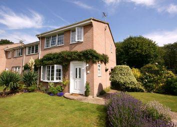 Thumbnail 3 bed end terrace house for sale in Hillside Mews, Corfe Mullen, Wimborne