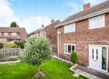 Thumbnail 3 bed semi-detached house for sale in Burntwood Crescent, South Kirkby, Pontefract