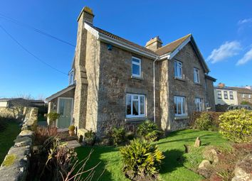 Thumbnail 3 bed semi-detached house for sale in Badgers Cross, Gulval, Penzance