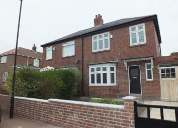 Thumbnail 3 bed semi-detached house to rent in Legion Road, Denton Burn, Newcastle Upon Tyne
