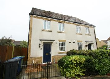 Thumbnail 2 bed semi-detached house to rent in Christie Drive, Huntingdon