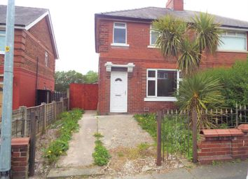 Thumbnail 3 bed semi-detached house to rent in Peel Park Crescent, Little Hulton, Manchester