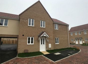 Thumbnail 3 bed terraced house to rent in Wittel Close, Whittlesey, Peterborough, Cambridgeshire