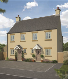 Thumbnail 2 bed terraced house for sale in The Cedar, Amberley Park, London Road, Tetbury, Gloucestershire