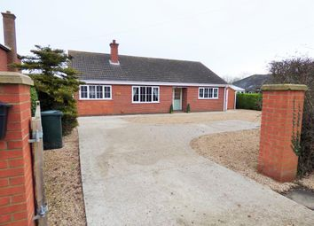 Thumbnail 3 bed bungalow for sale in Wragholme Road, Grainthorpe, Louth