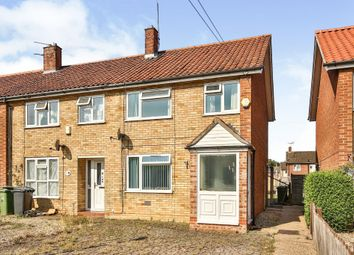 Thumbnail 3 bed end terrace house for sale in Moorgate Road, Dereham