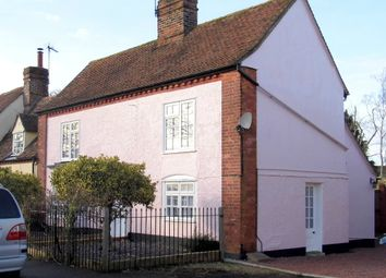 Thumbnail 3 bed cottage to rent in Upper Street, Stratford St Mary, Colchester