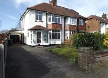 Thumbnail 3 bed semi-detached house for sale in Devonshire Road, Hazel Grove, Stockport, Cheshire