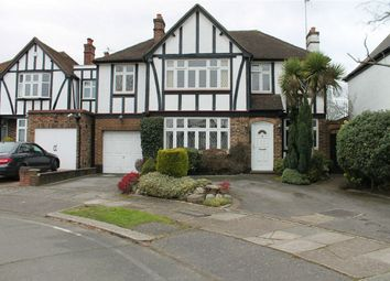 Thumbnail 4 bed detached house for sale in Oakleigh Gardens, Edgware, Middlesex
