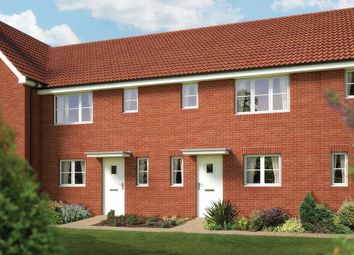 "Thumbnail 3 bedroom terraced house for sale in ""The Southwold"" at Fordham Road, Soham, Ely"