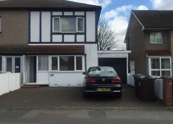 Thumbnail 4 bedroom terraced house to rent in Whalebone Lane North, Romford