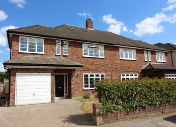 Thumbnail 4 bed semi-detached house for sale in Broadfields, East Molesey