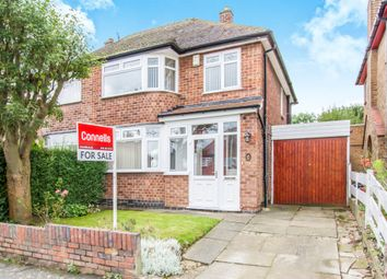 Thumbnail 3 bedroom semi-detached house for sale in Fielding Road, Birstall, Leicester