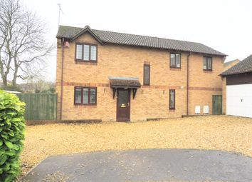 Thumbnail 4 bed detached house for sale in Fuller Close, Swindon
