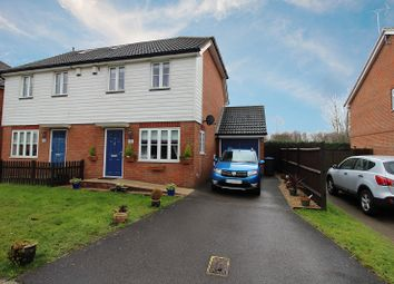 Thumbnail 2 bed semi-detached house for sale in Old Brighton Road South, Pease Pottage, Crawley, West Sussex.