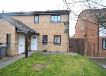 Thumbnail 1 bed flat to rent in Waterson Crescent, Witton Gilbert, Durham