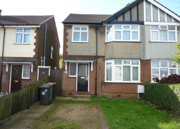 Thumbnail 3 bed semi-detached house to rent in Front Street, Slip End Luton