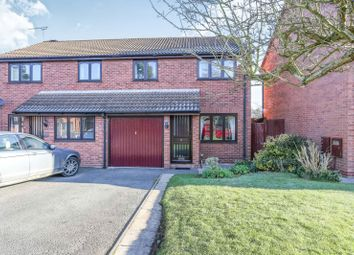 Thumbnail 3 bed semi-detached house to rent in Cherry Orchard, Kenilworth