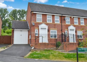 Thumbnail 2 bed end terrace house for sale in Desborough Close, Newbury